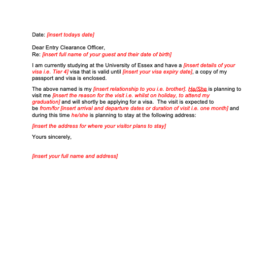 Character Reference Letter Format For Immigration